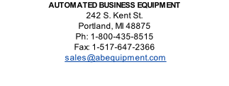 Automated Business Equipment 